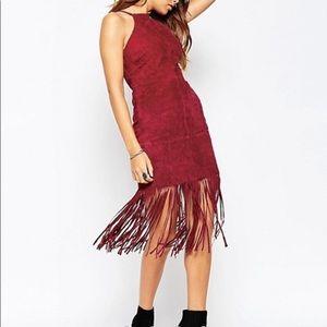 Real Suede western dress